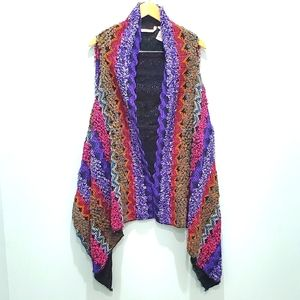 Soft Surroundings one size vest shawl